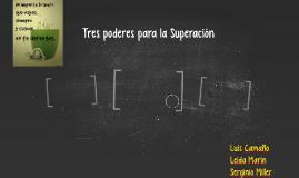 tres poderes para la Superación