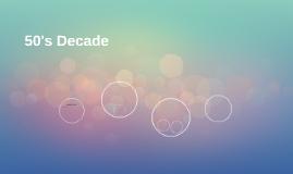 50's Decade