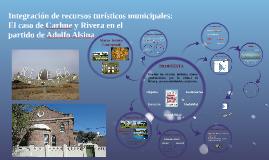 Integración de recursos turísticos municipales: