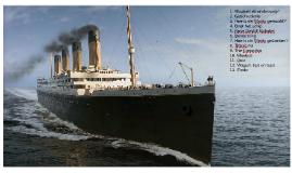 Titanic, spreekbeurt 2018