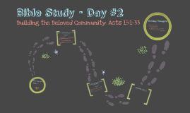 Bible Study - Day #2 (backup)