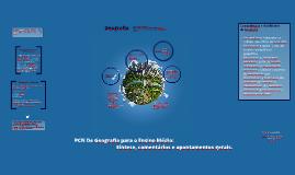 PCN de Geografia para o Ensino Médio.