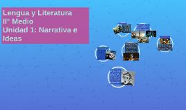 Unidad 1: Narrativa e Ideas