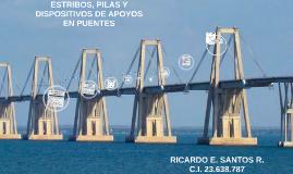 ESTRIBOS, PILAS Y DISPOSITIVOS DE APOYOS EN PUENTES