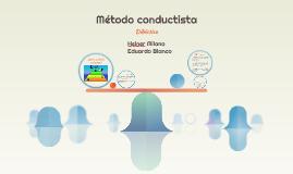 Metodo conductista