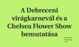 A Debreceni virágkarnevál és a ChelseaFlower Show