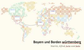 Bayern und Bardenwürdenberg