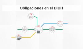 Obligaciones en el DIDH