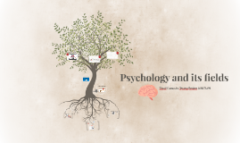 Psychology and its fields