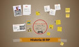 KL 8 V/5 Historia III RP