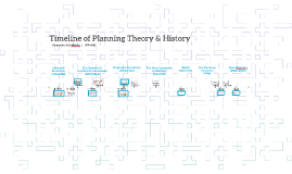 Timeline of Planning Theory & History