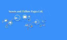 Copy of Sensis and Yellow Pages Ltd.