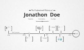 Timeline Prezumé by Jonathan Griffin