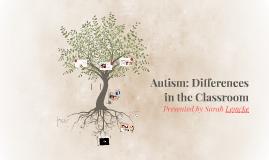 Autism Spectrum Disorder: Differences in the Classroom