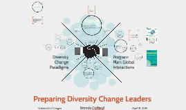 Preparing Diversity Change Leaders