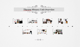 Theatre History Unit Overview
