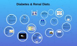 Diabetes & Renal Diets