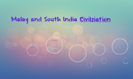 Malay and South India Civilziation