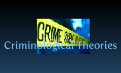 LSA2010 Criminology theories