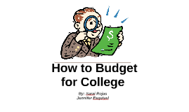 How to Budget for College