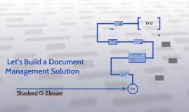 Let's Build a Document