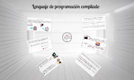 Lenguaje de programación compilado