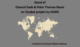 USAID project in the eyes of E.Sade & P.T.Bauer
