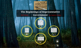 The Beginnings of Representative Government.