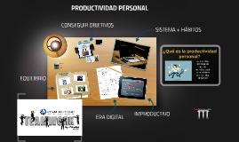 Copy of PRODUCTIVIDAD PERSONAL PARA EMPRENDEDORESS