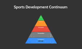 Sports Development Continuum