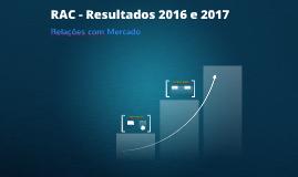 RAC 2016 e 2017