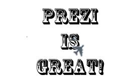 Prezi Practice for 2013