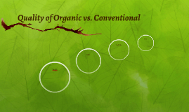 Quality of Organic vs. Conventional