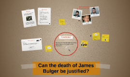 Can the James Bulger case be justified?