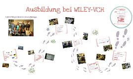 Präsentation: Ausbildung zum/-r Medienkaufmann/-frau Digital und Print bei WILEY-VCH