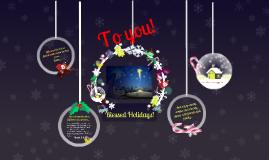 A Christmas Prezi from Marco & Sveta