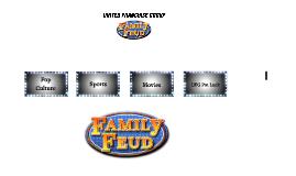 UFG Family Feud