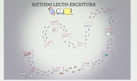 METODO LECTO-ESCRITURA