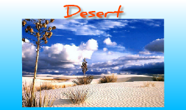 Copy of Desert