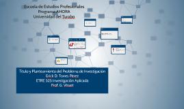 Escuela de Estudios ProfesionalesPrograma AHORAUniversidad