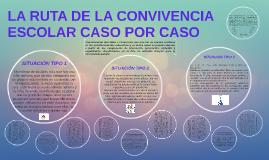 Copy of LA RUTA DE LA CONVIVENCIA ESCOLAR CASO POR CASO.