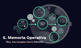 6. Memoria Operativa