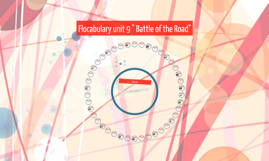 """Copy of Flocabulary unit 9 """" Battle of the Road"""""""