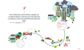 FACTORES DEL AUTOMÓVIL A BASE DE COMBUSTIBLES FÓSILES QUE IN