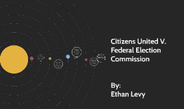 citizen united vs federal election Most of what you hear about citizens united v  one of the things they've followed is all the outside money spent in federal elections on election.
