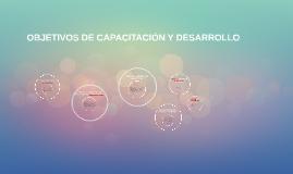 Copy of  OBJETIVOS DE CAPACITACION Y DESARROLLO