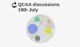 QCAA discussions 19th July
