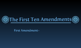 10 amendments