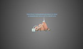 Copy of Copy of PROCESOS FUNDAMENTALES BÁSICOS PARA LA ENSEÑANZA DE LA LECTO