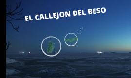 EL CALLEJON DEL BESO